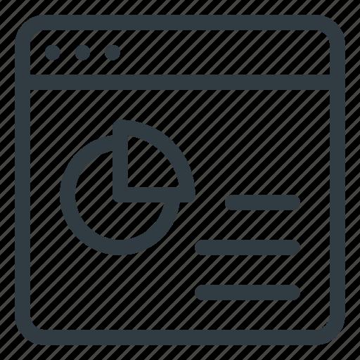 analitycs, marketing, seo, site, web icon