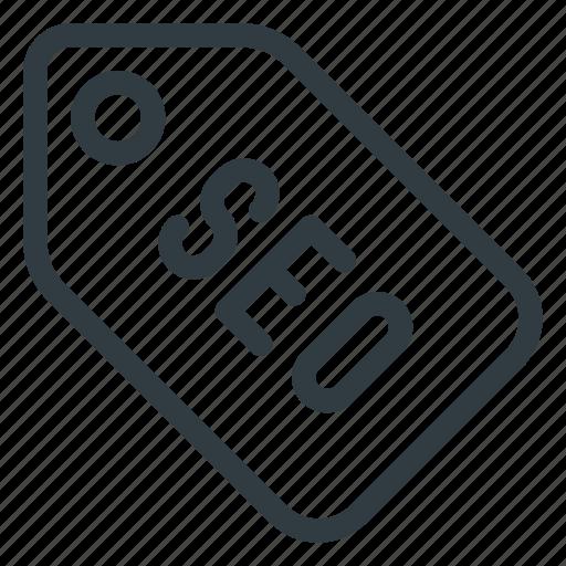 engine, label, marketing, optimization, search, seo, tag icon