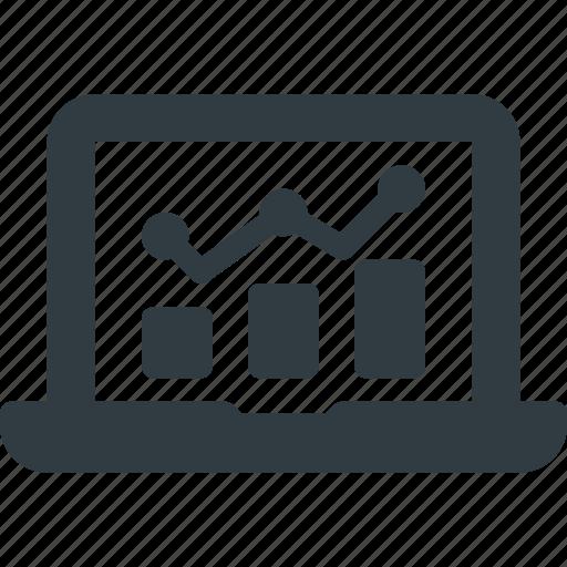 analysis, engine, graph, marketing, monitoring, optimization, seo icon