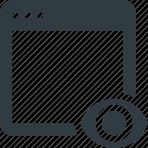 Website, monitoring, marketing, analysis, analytics, seo icon