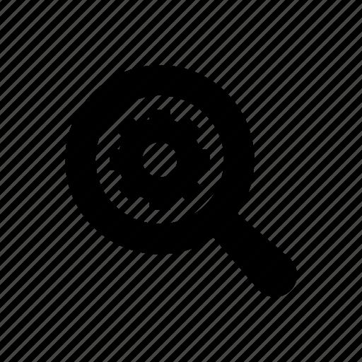 analyze, magnifying glass, marketing, optimization, seo icon