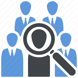 group, market research, user research icon