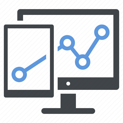 business growth, seo analytics, statistics, web analytics icon