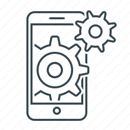 cell, configuration, device, mobile, mobile seo, settings, tools icon