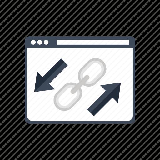 internet, link, optimization, seo, web, weblinks, website icon