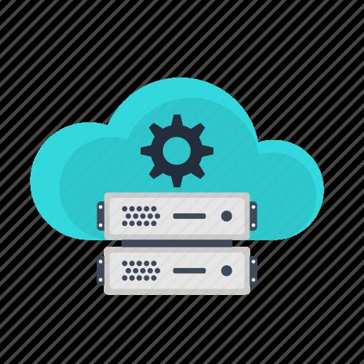 backup, cloud, optimization, search, seo, server, settings icon