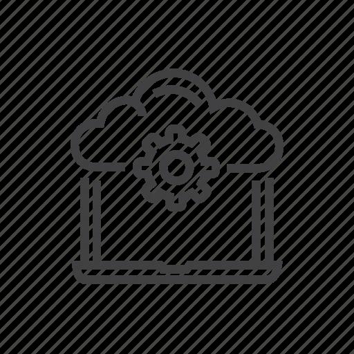 cloud, computing, network, upload icon