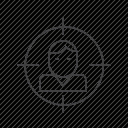 aim, focus, marketing, seo, target icon