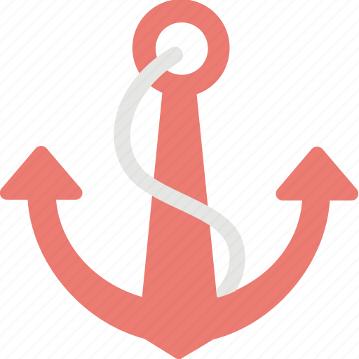 anchor, docking, hook, nautical, sailing icon