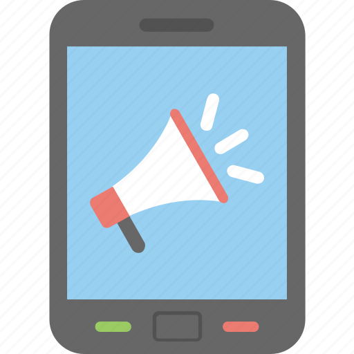 campaign, mobile advertising, mobile marketing, promotion, seo icon