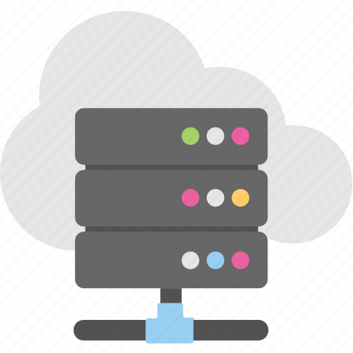cloud computing, cloud hosting, cloud network, network sharing, server cloud icon