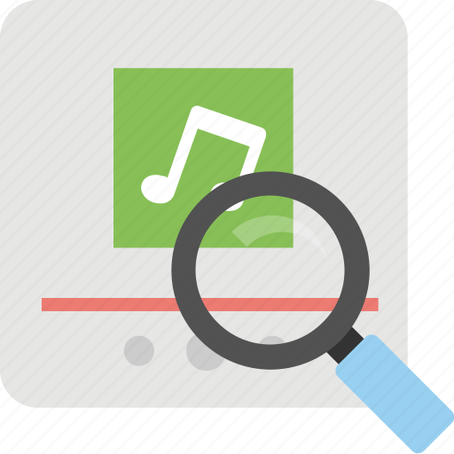 audio search, find music online, search music, sem, song search icon