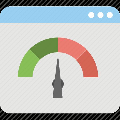 web odometer, web rating, web speed, web traffic icon