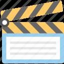 clapboard, clapper, clapper board, multimedia, shooting