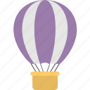 air travel, startup, travel, transport, hot air balloon icon