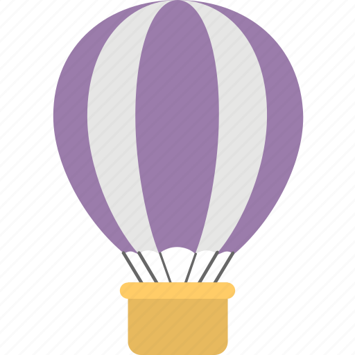 air travel, hot air balloon, startup, transport, travel icon