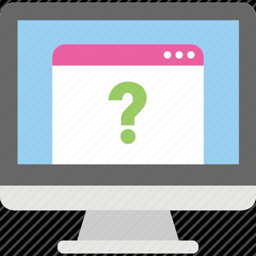 faq, help, online help desk, questionnaire, support center icon