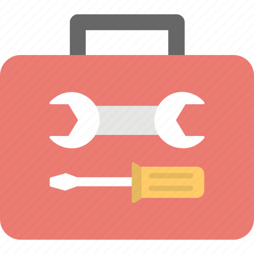 repair kit, repairing, tool kit, tool storage, tools box icon