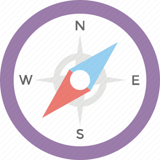 Compass, directional, explore, geography, gps, navigation icon - Download on Iconfinder