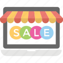 buy online, ecommerce, online sale, online shopping, sale offer icon