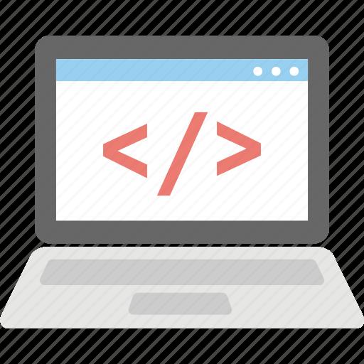 coding, programming, software develop, source code, web development icon