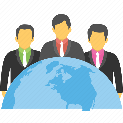 global business, global community, global connection, global network, social media icon