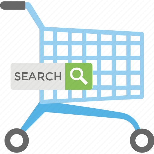 ecommerce, online shopping, search shopping results, shopping engine, shopping website icon