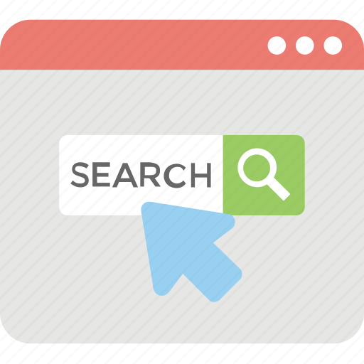 browsing, search engine, search online, search results, web search icon