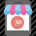 buy online, e commerce, mcommerce, online shopping, shopping app icon