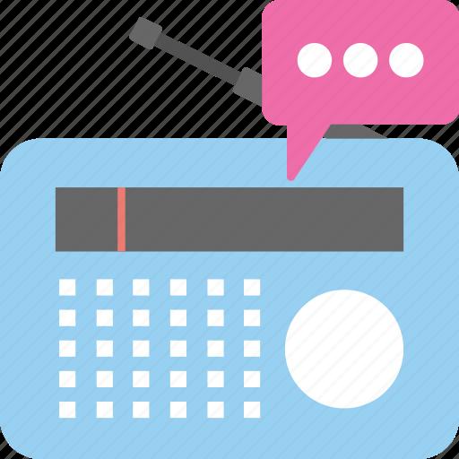 air broadcast, radio broadcasting, radio communication, radio transmission, wireless communication icon
