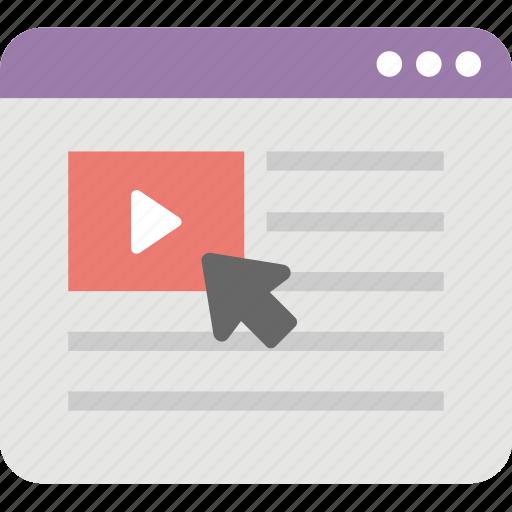 social clip, social media, video advertising, video marketing, viral video icon