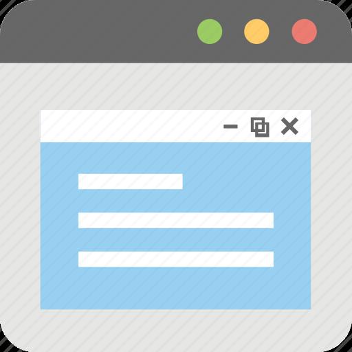 css design, web design, web layout, web template, website layout icon