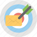 ecommerce, email marketing, email targeting, targeted email, targeted email marketing icon