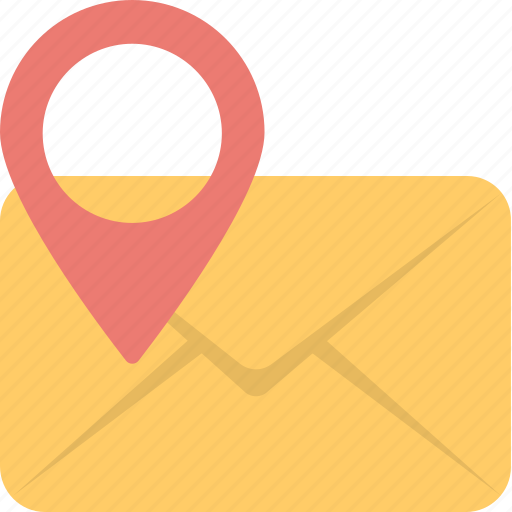 email map, geotag, location pin, mail location pin, mail pin icon