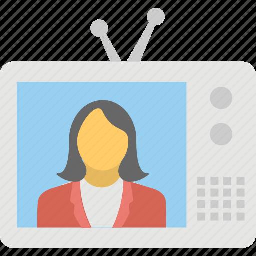 news, news telecast, television, transmission, tv icon