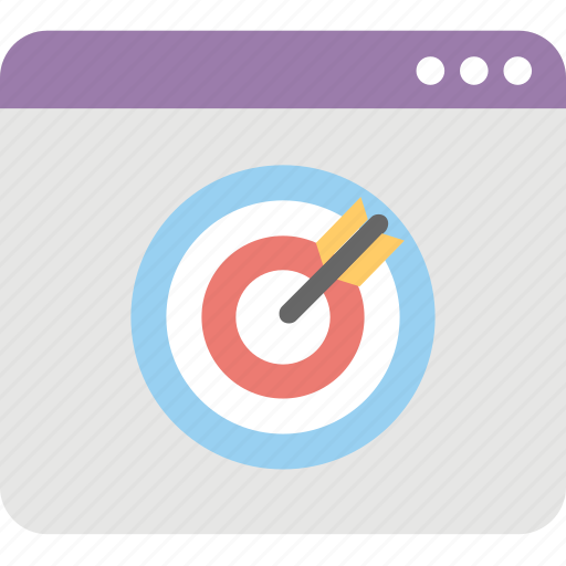 marketing, mass marketing, online advertising, online marketing, targeted advertising icon