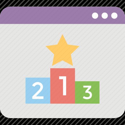 pagerank, seo, web promotion, web ranking, web rating icon