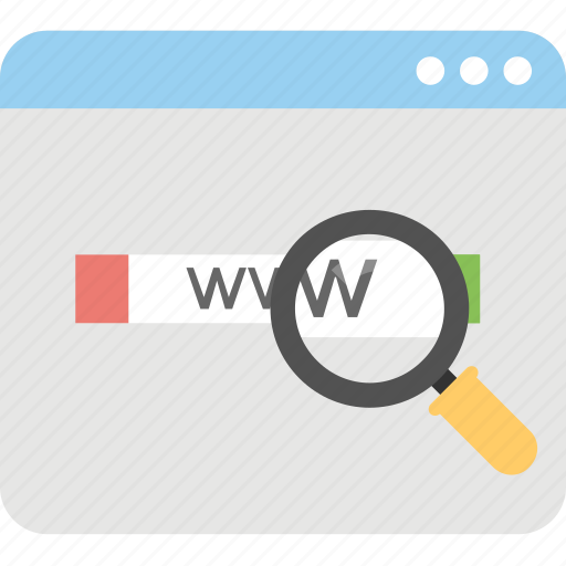 browser, domain, online browser, search online, www icon