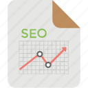 analytics, seo analysis, seo analyzer, seo report, statistical analysis icon