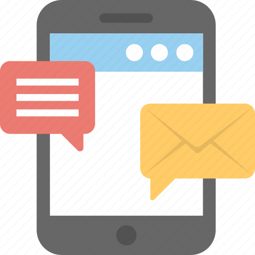 email marketing, mobile apps, mobile marketing, mobile publicity, sms marketing icon