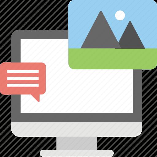 advertisement, hashtag post, image sharing, marketing strategy, social media icon