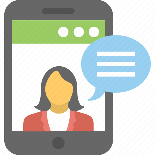 live chat, online communication, online consultant, video call, video conference icon
