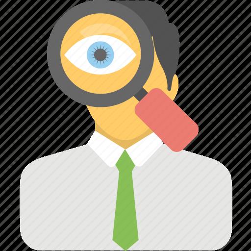 analyst, investigator, seo consultant, seo expert, web analyst icon