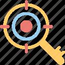 keywording, search engine, seo, seo target, target keyword icon
