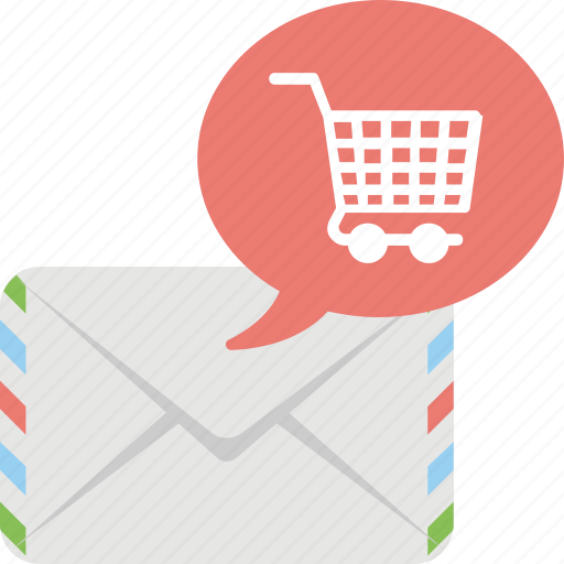 e newsletter, ecommerce newsletter, ecommerce support, email marketing, newsletter campaign icon