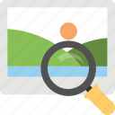 display zoom, image search, image zoom, photo marketing, photo viewer icon