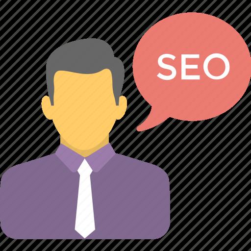 expert advice, freelancer, seo consultant, seo expert, seo specialist icon