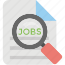 employment, human resource, job search, recruitment, talent search icon
