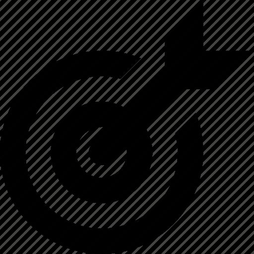 Aim, bullseye, goal, shooting, target icon - Download on Iconfinder