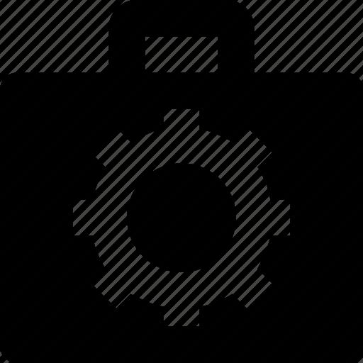 briefcase, case, configuration, portfolio, preferences icon